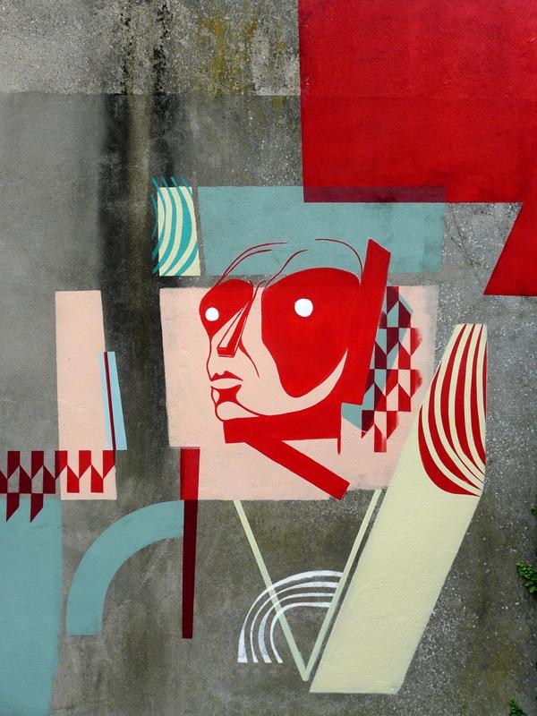 St André lez Lille amose mural paint