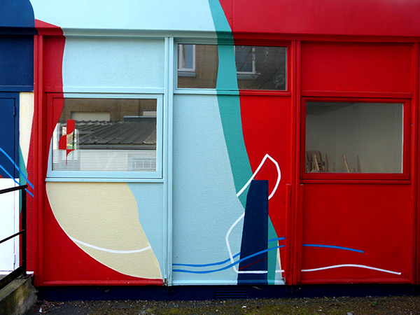 St André lez Lille amose paint