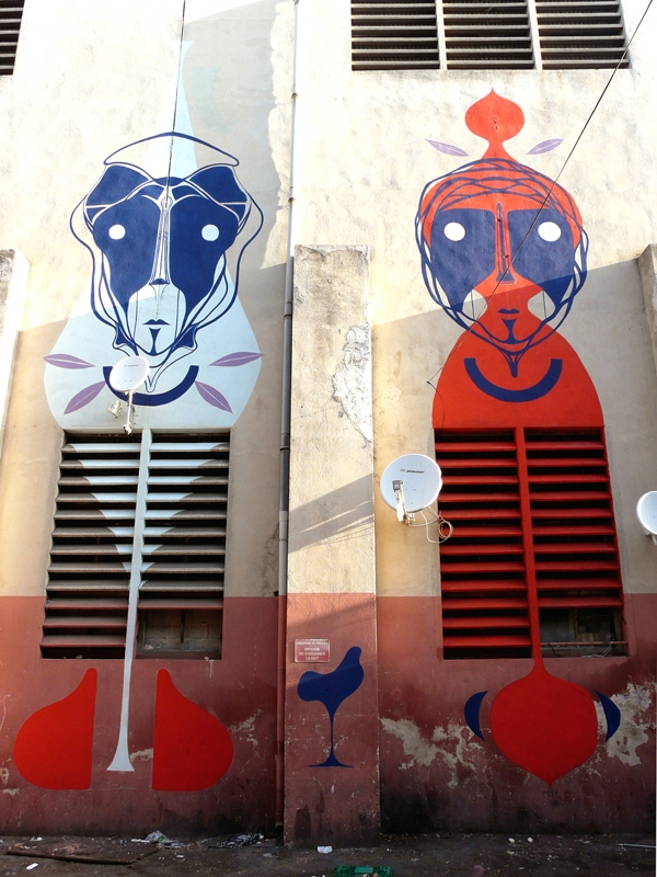 Marseille street art festival Marseille amose paint